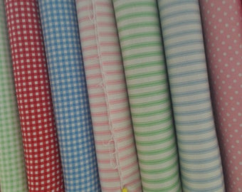 Ticking stripe fabric - 100% cotton