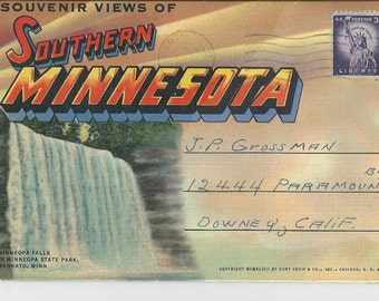 Vintage Southern Minnesota Photo Folder