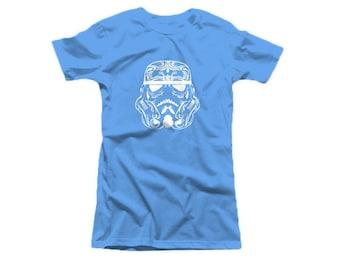 new womens imperal soldier parody wars t-shirt tee top nerd sugar skull clothing