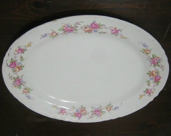 Homer Laughlin China - Vintage Platter - Vintage China - Vintage Dinnerware