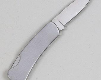 Locking Pocket knife ,  Free Engraving