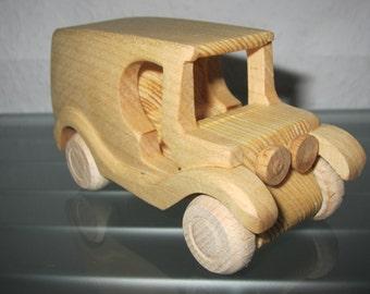 Oldtimer T model Truck UNIQUE wooden car model car car wood very rare handmade