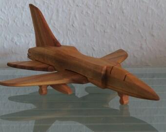 Tornado fighter plane aircraft jet HANDMADE NEW wood