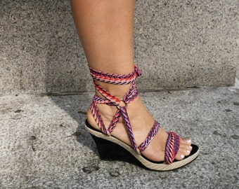 Extra Wedge Print Laces