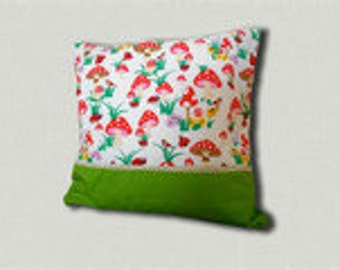 toadstool pillow case