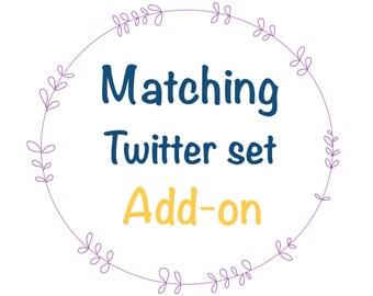 Matching Twitter set to my wordpress template