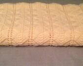 Hand-Knit Super-Soft Baby Blanket