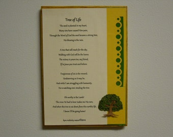 Tree of Life frame or magnet