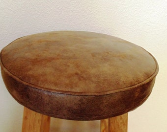 Popular items for tabouret de bar rond on etsy for Housse pour tabouret rond