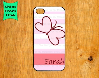 iPhone 6/6s Plus Case, iPhone 6/6s Case, Butterfly Monogram iPhone 5s Case, iPhone 5c Cover, iPhone 4 4s Cases, Cute iPhone 5 Case