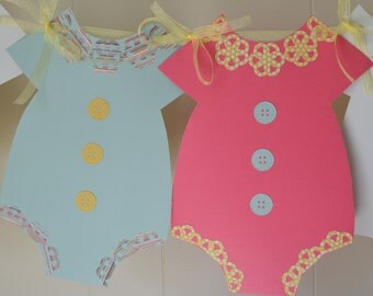 Baby Girl Shower Banner, Baby Shower Banner, Gender reveal banner, Girl Baby Shower