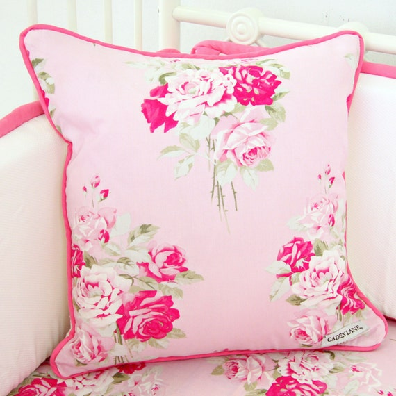 Shabby Chic Pillows On Etsy : Shabby Chic Square Accent Pillow