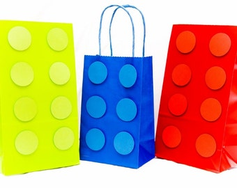 Building Block Bags - Bright Primary Colors