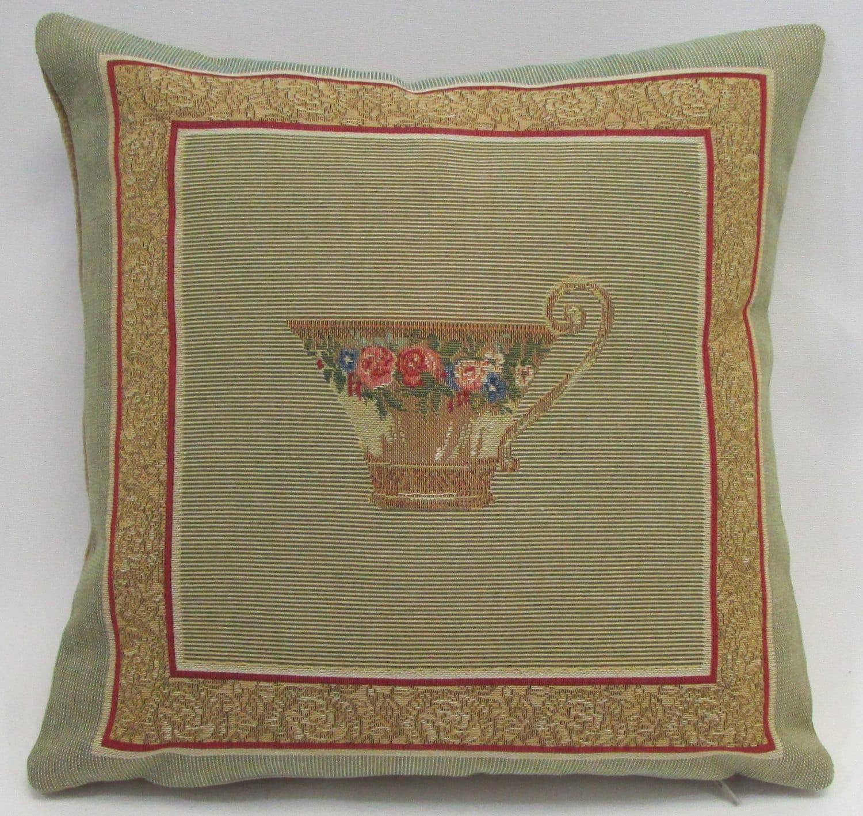 Vintage Victorian Pillows : Victorian Vintage Textile Pillow