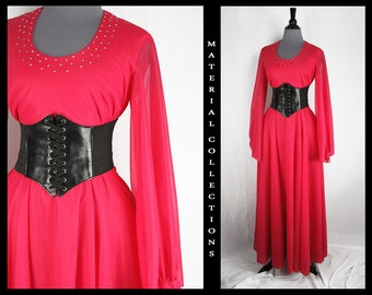 SALE: Vintage MIKE BENET Gown • M/L • Material Collections