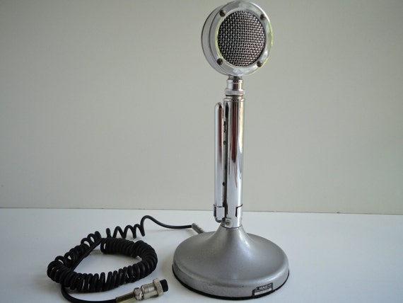 tug 9 stand 6 wire mic from astatic 1970 s ham cb radio