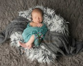 Teal 90 grade CHEESECLOTH Wrap- Newborn Wrap- Newborn Photo Prop-Photography Wrap- Cheesecloth Wrap-Baby Wrap- 40 Colors Available
