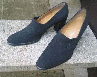 Womens Black Microfiber Enzo Angiolini Shoes Size 7.5 B