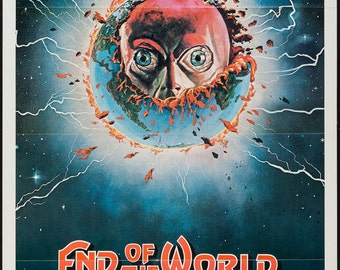 Movie Poster 27 x 41 End of the World 1977