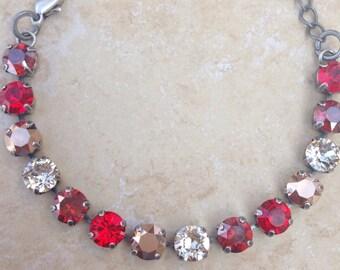 Fiery Red Bracelet