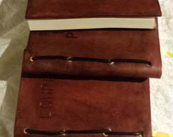 Hand-made Leather Bound Journal