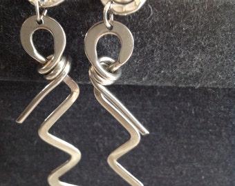 Funky Sculpted Earrings