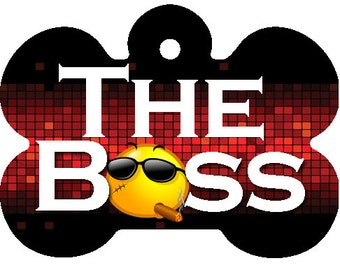 The Boss Pet I.D. Tag