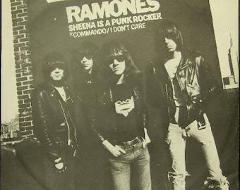 Ramones Sheena Is A Punk Rocker   12 Inch  1977