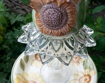 Popular items for sunflower teapot on Etsy