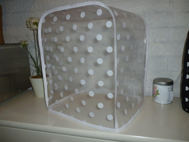 Polka Clear PVC KitchenAid Professional 600 Series 6-Quart
