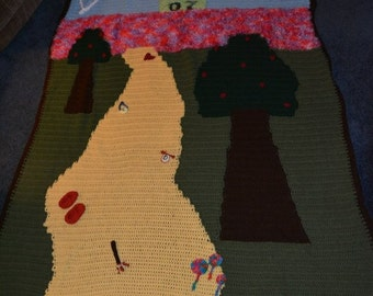Masterful Wizard of OZ blanket! Custom made