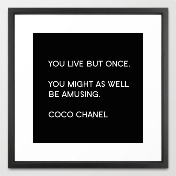 coco chanel wall art print 2017 2018 best cars reviews. Black Bedroom Furniture Sets. Home Design Ideas