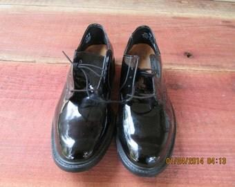 Vintage Stuart McGuire Vinyl Patent Leather Shoes