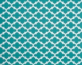 PREMIER PRINTS FABRIC - Fynn Moroccan Jade Turquoise - Home Decor Fabric By The Yard