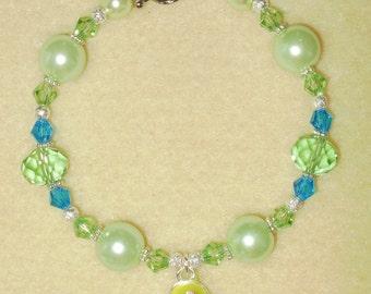 Green FlipFlop Bracelet