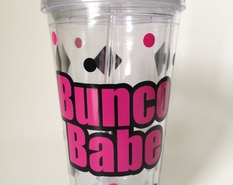 Bunco Babe - Acrylic Tumbler