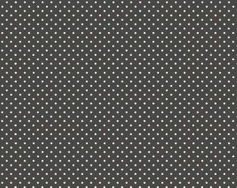 COTTON FABRIC Grey Dot - Makower UK 100% premium cotton