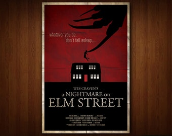 A Nightmare on Elm Street Poster (Multiple Sizes)