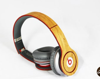 Real Wood Skin for Beats Solo & Solo HD, free shipping worldwide