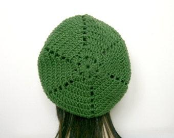 CROCHET HAT PATTERN, Beret Pattern, Crochet Beret, Crochet Pattern, Hat Pattern, Womens Beret, Instant Download, Crochet, Beret Hat (B42)