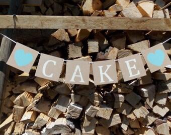 Cake Wedding Garland banner / Garland cake