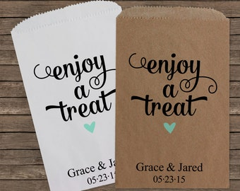 Wedding Favors Wedding Favor Bags Candy Bar Bags Wedding Favor Bag Rustic Wedding Personalized Wedding Favor Bags Candy Buffet Kraft 098