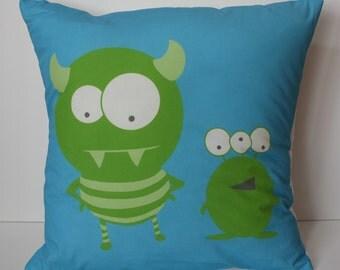 Monster Pillow cover
