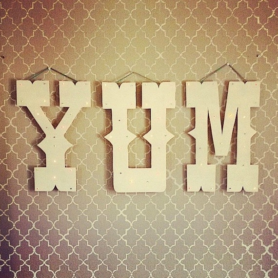 18 Large Marquee Letter Light up LED wall by VerdeValleyOutpost