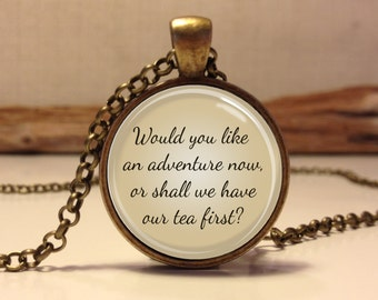 Peter Pan Quote Jewelry, Peter Pan Necklace Peter Pan art pendant jewelry.(peter pan #7)