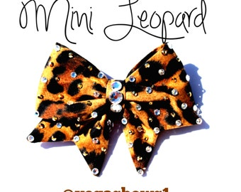 Mini Leopard Bow