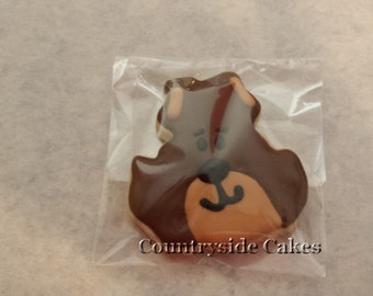 Bear Decorated sugar cookies -1 dozen