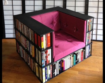 Luxury Club Library Bookcase Chair - Made to Order