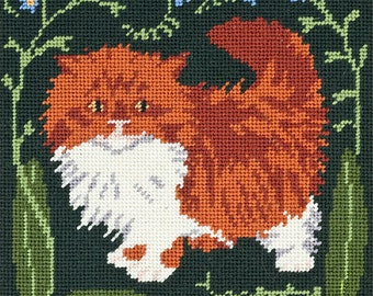 Forget-me-not - Kitten tapestry kit - on a Special Spring offer!