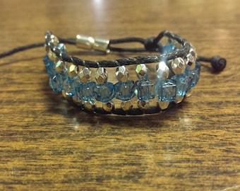 adjustable beaded friendship bracelet